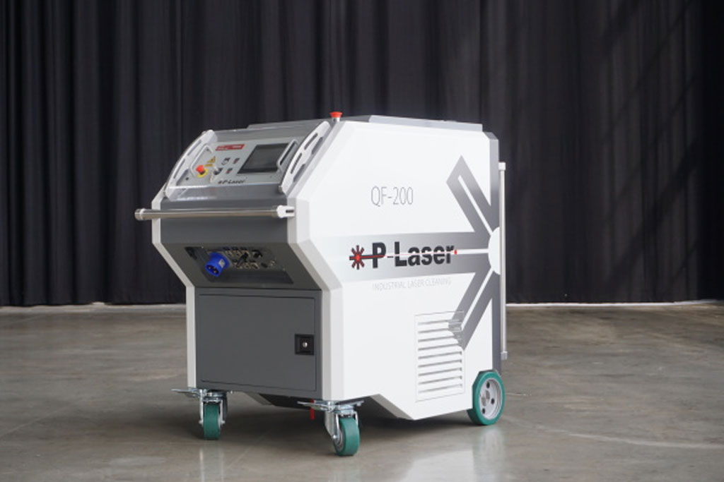 Laser cleaning apparatuur